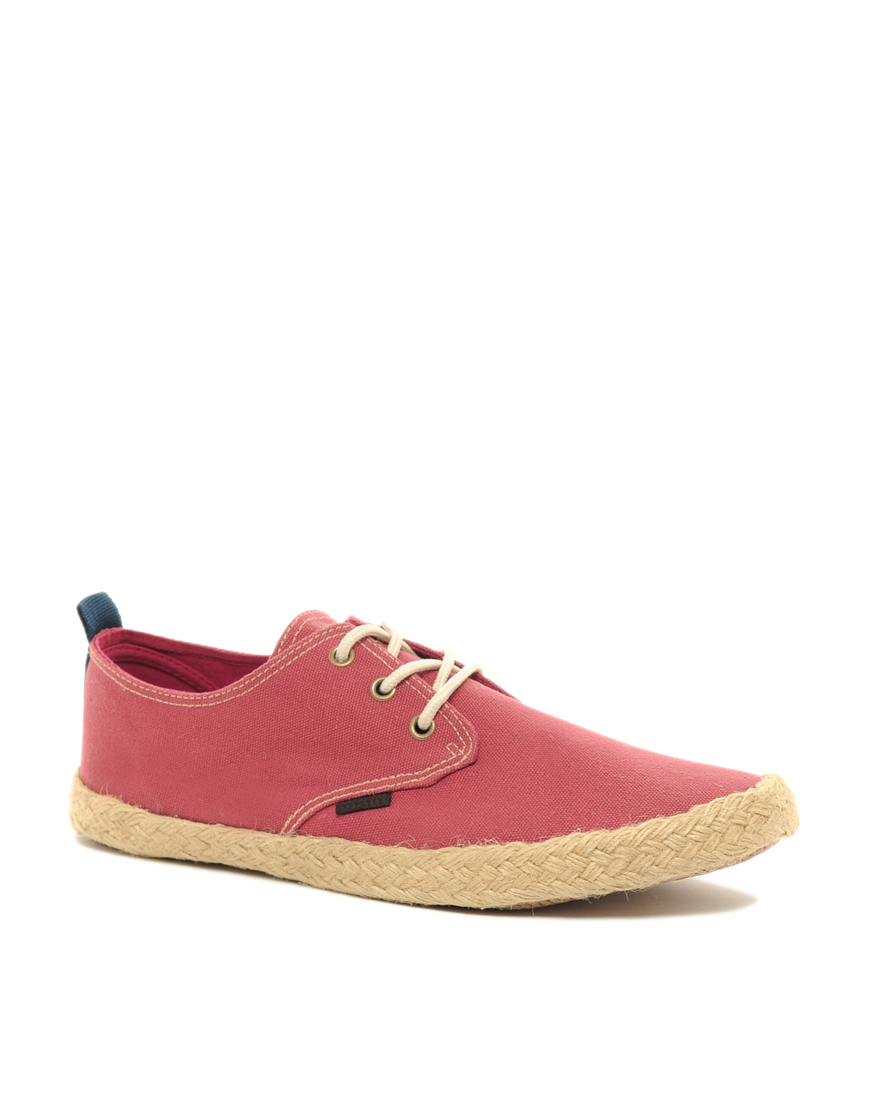 Ben Sherman Globe Lace Up Espadrilles