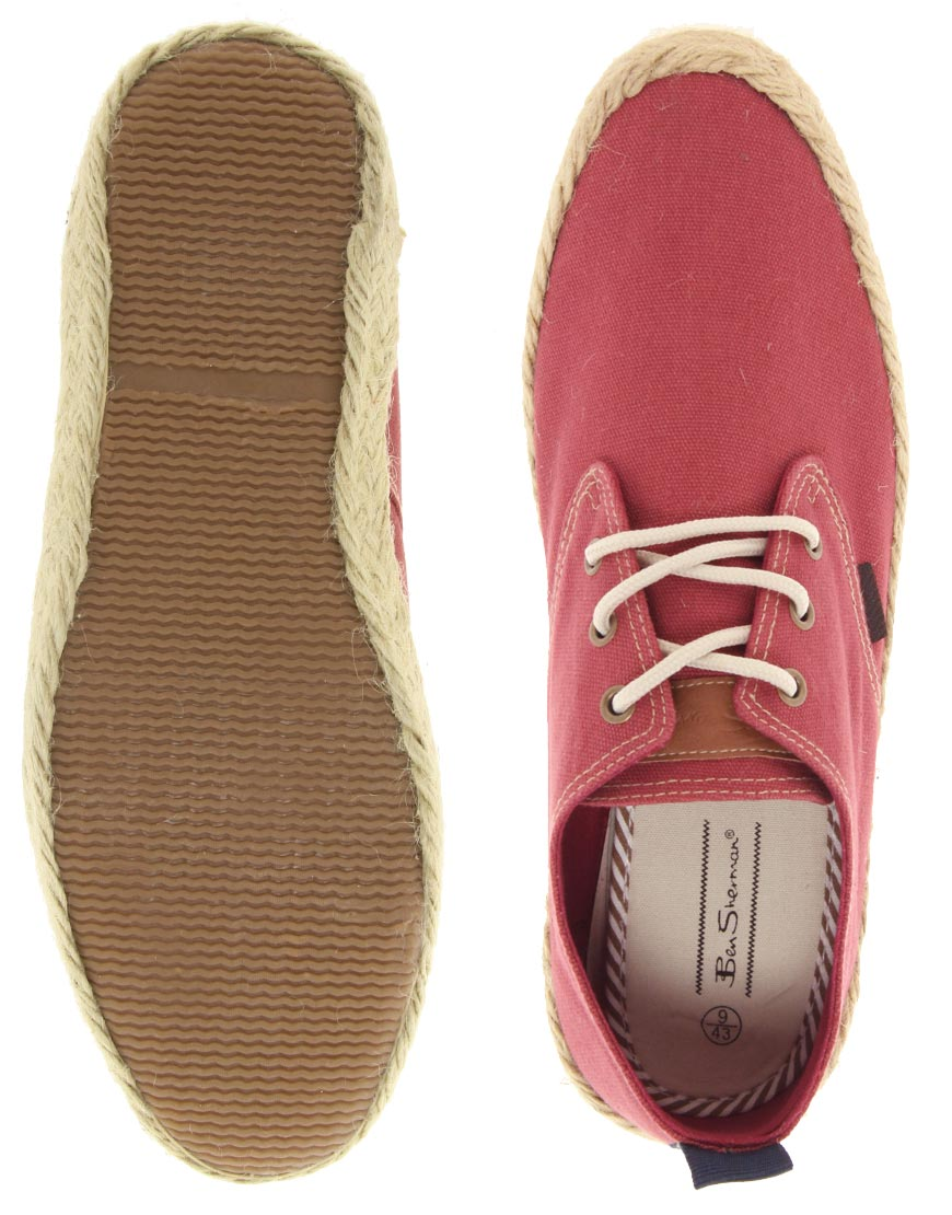Ben Sherman Globe Lace Up Espadrilles2