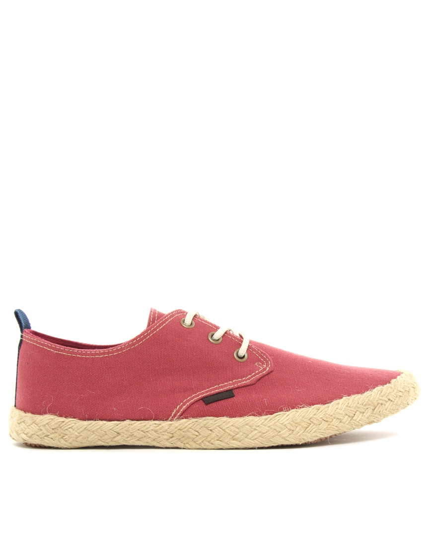 Ben Sherman Globe Lace Up Espadrilles3