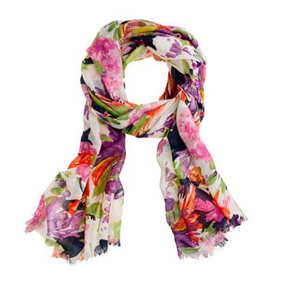 jcrew printed Summer scarf