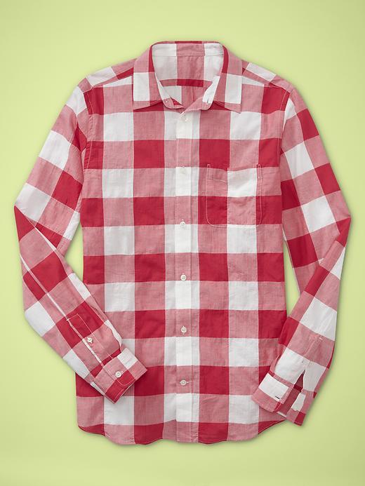Gap Buffalo plaid shirt